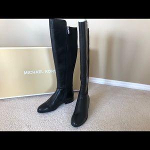 Michael Kors Bromley Flat Boots